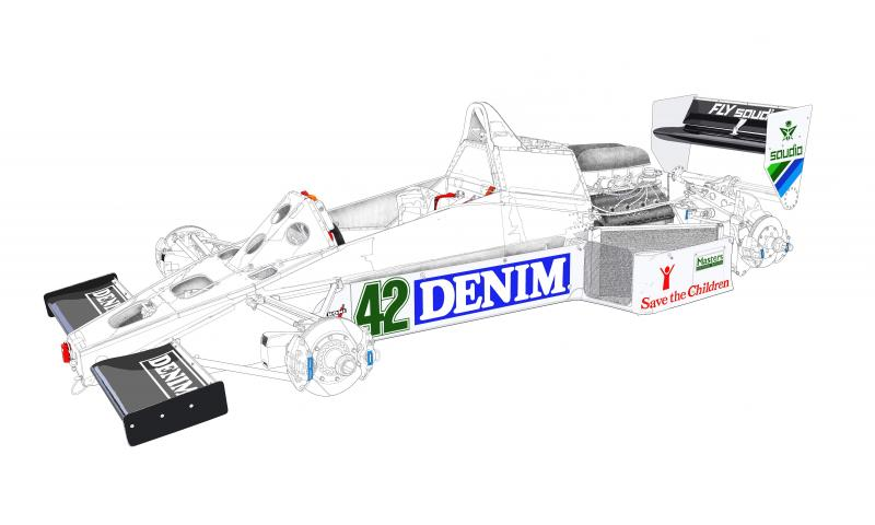 F1 Williams FW08C N42
